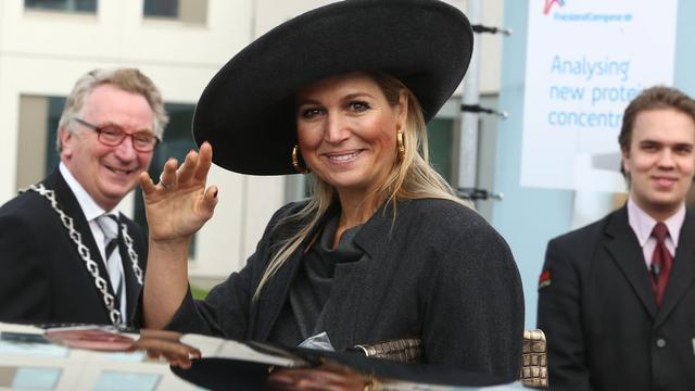 Achter de lens: Koningin Máxima in Wageningen
