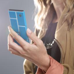 Modulaire smartphone Google vertraagd door verkeerde coating