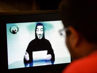 Website op darknet door Anonymous gehackt