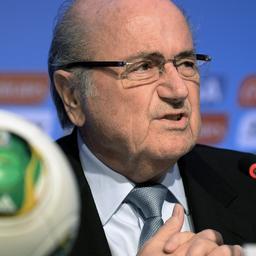 Blatter: 'Stadion São Paulo half april af'