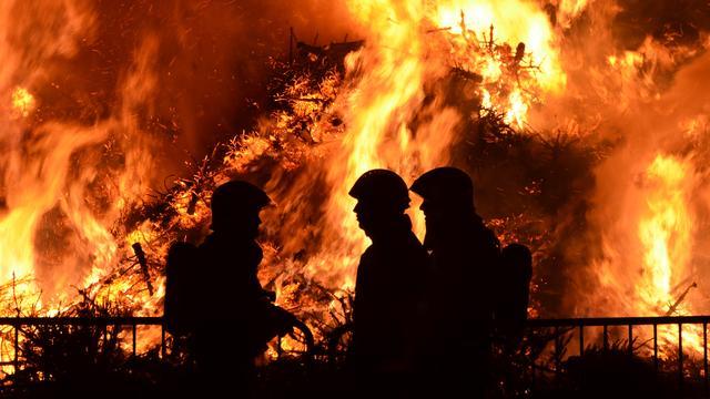 Locaties en tijden van kerstboomverbranding in Breda