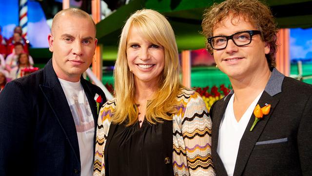 Linda de Mol interviewt koninklijk paar