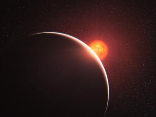 Mogelijk vloeibaar water op planeet op vier lichtjaar van aarde