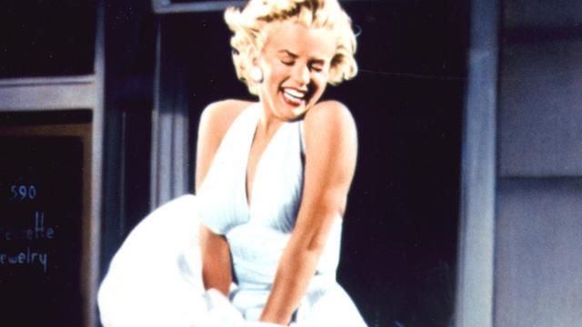 Wapperende jurk van Marilyn Monroe te zien in de Nieuwe Kerk