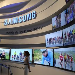 'Samsung ziet verkoopprijs tv's met 13 procent dalen'