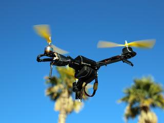 Drones worden uitgerust met hd-camera's