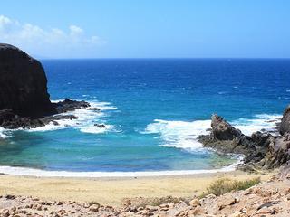 Vlucht van TUI kwam door het slechte weer niet verder dan Fuerteventura