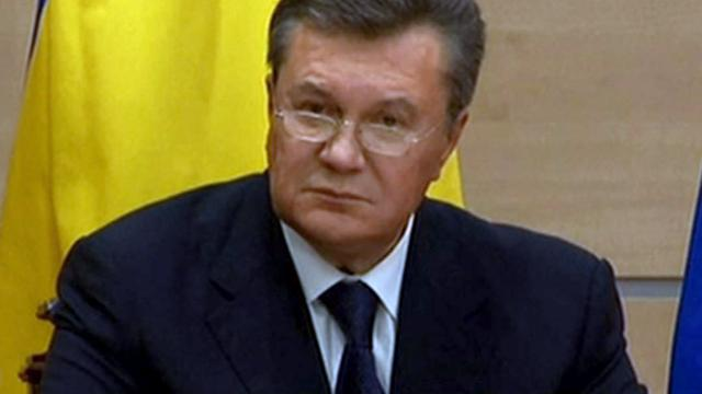 Oekraïense ex-president Janoekovitsj betreurt bloedvergieten in Kiev