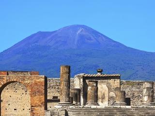 Documenten beschadigd bij vulkaanuitbarsting in eerste eeuw