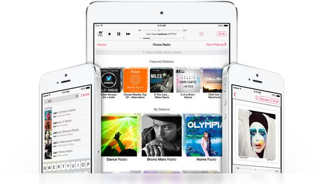 Apple stopt met gratis iTunes Radio