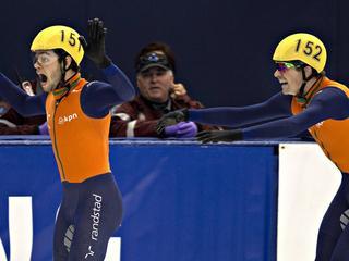 Knegt, Breeuwsma, Van der Wart en Snellink snelste in wereldbeker