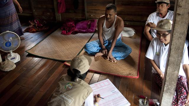 Myanmar minder dichtbevolkt dan gedacht
