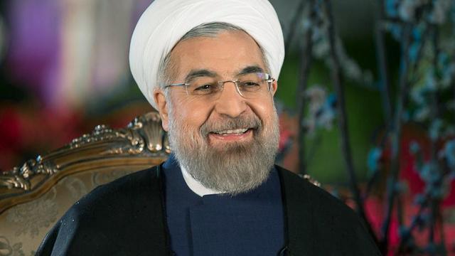 President Iran veroordeelt sancties VS