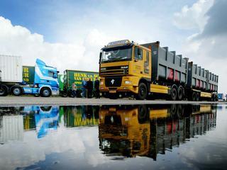 Vooral veel Nederlandse truckers rijden op Belgische wegen
