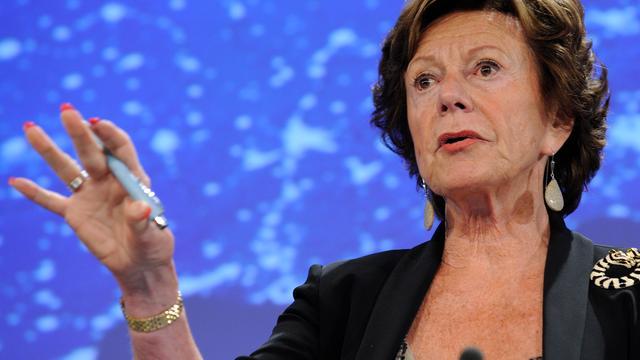 Kroes onbekend met inschrijving bestuur tijdens termijn eurocommissaris