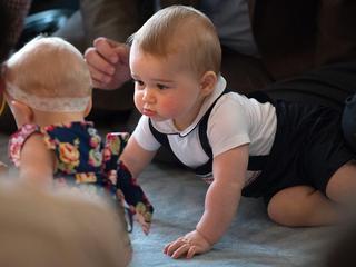 Troonopvolger is met zijn elf maanden de jongste in lijst