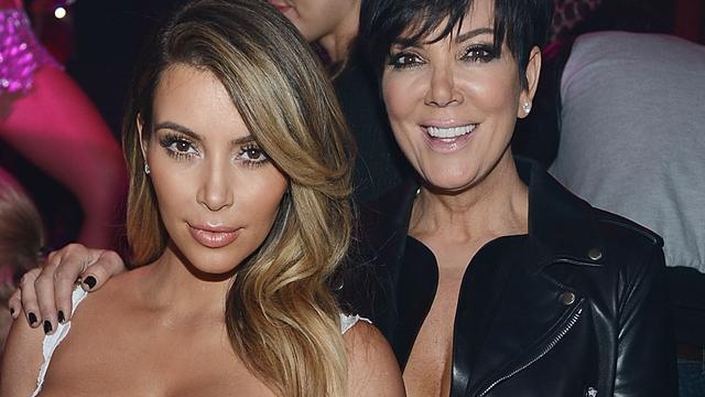 Kris Jenner 'komt maar niet af van Kim Kardashian'