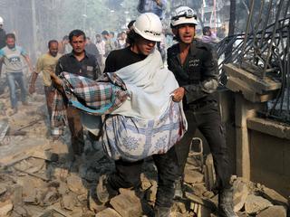 Luchtaanvallen Syrië