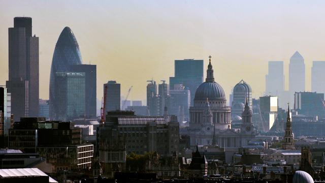 Britse economie groeit minder hard dan gedacht