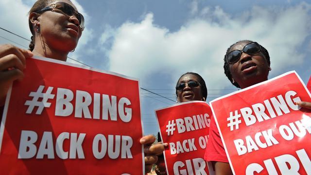 Militanten vinden eerste schoolmeisje ontvoerde groep Boko Haram