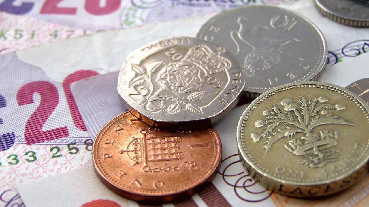 Engelse Ponden inwisselen voor euro's