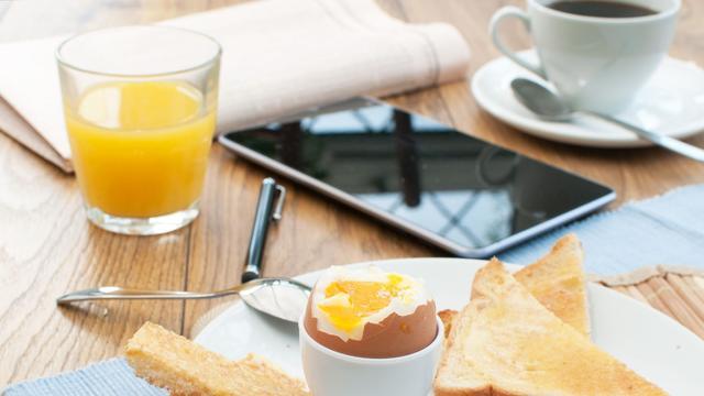 Ontbijten maakt mensen mogelijk actiever