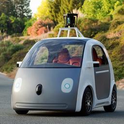 Zelfrijdende Google-auto krijgt verwijderbaar stuur