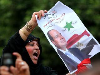 Stemmen voor Sisi