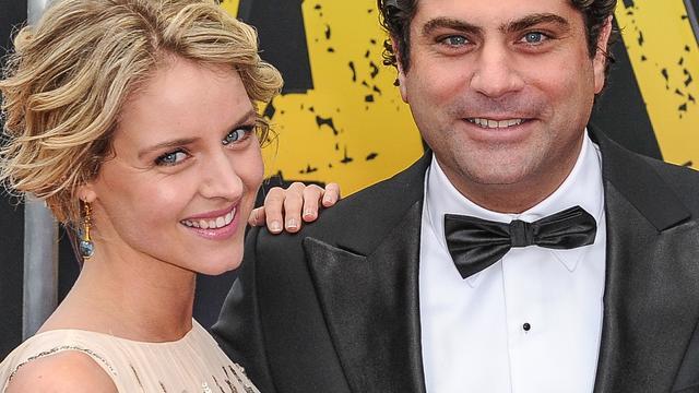 Liza Sips with Boyfriend Ralph Manheim