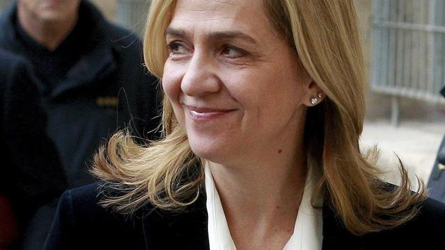 Spaanse prinses Cristina legt getuigenis af in fraudezaak