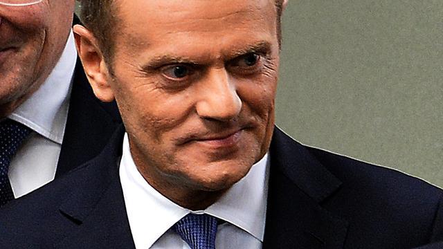 Succesvolle premier Tusk mag Europa leiden