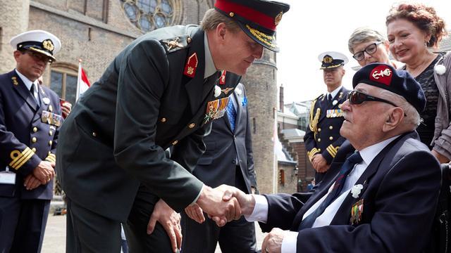 Speciale medailles uitgereikt op Veteranendag
