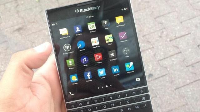 'High-end Blackberry's met toetsenbord in september gelanceerd'