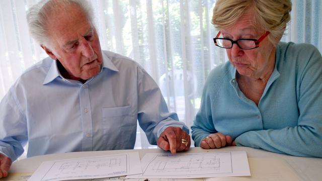 Ouderen verkopen woning voor lagere prijs
