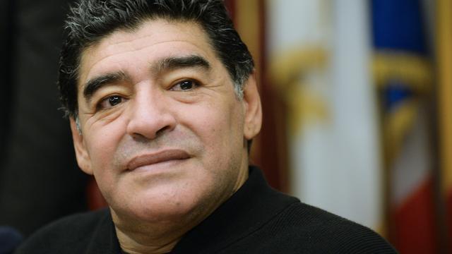 Maradona en Platini rouwen om overlijden Cruijff