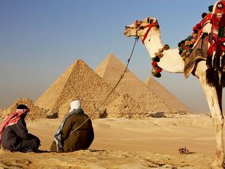 De Escape Room is gebouwd in de stijl van een Egyptische tombe