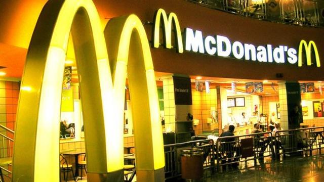 Brandje in McDonalds Muntplein