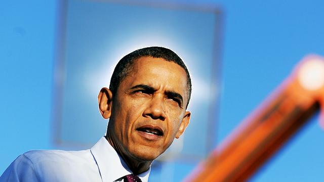 Rel in VS om 'ga naar de hel Barack'