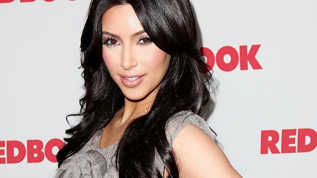 Vreemde valt Kim Kardashian lastig