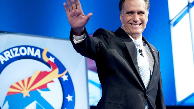 Mitt Romney wint in Arizona en Michigan