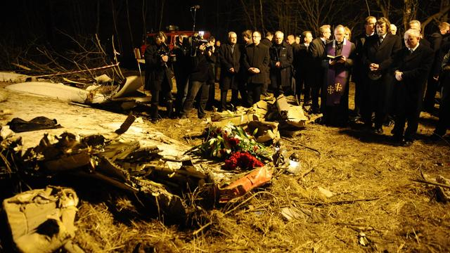 'Kaczynski-vliegtuig had niet in Smolensk mogen landen'