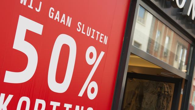 'Aantal faillissementen daalt in 2016 met 10 procent'