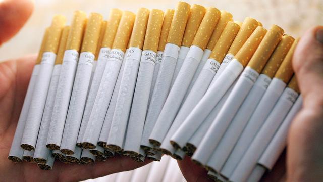 Sigaretten gestolen uit winkel tankstation