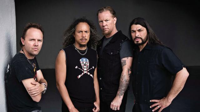 Metallica schiet bestolen tributeband te hulp