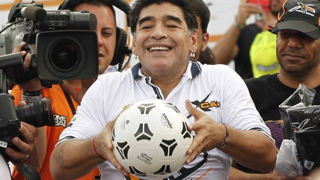 Argentijnse zender werkt aan serie over leven Maradona