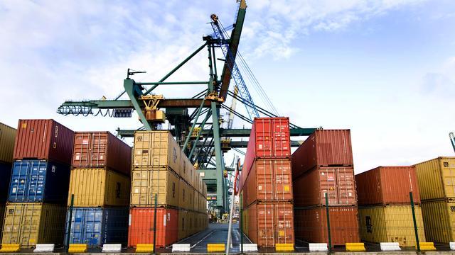 Containervervoer haven Antwerpen groeit verder