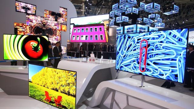 Samsung toont buigbare 105 inch-televisie op IFA