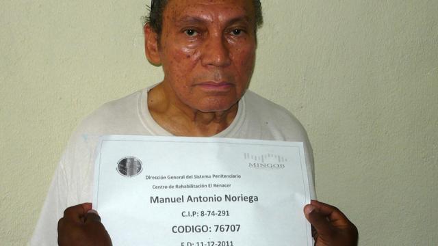 Ex-dictator Panama Noriega ondergaat operatie