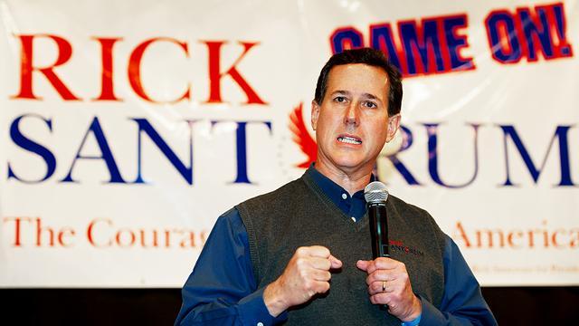 Santorum staakt campagne in Florida