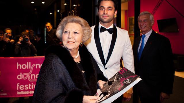 Koningin bij opening Holland Dance Festival